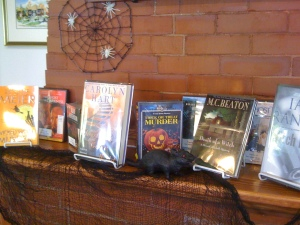 Halloween reads at OIL.
