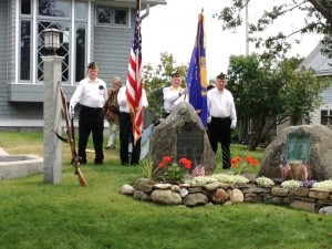 Color guard from John Leo Murray, Jr. American Legion Post #171