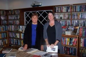 Karin Woodruff Jackson and Beth Muldoon